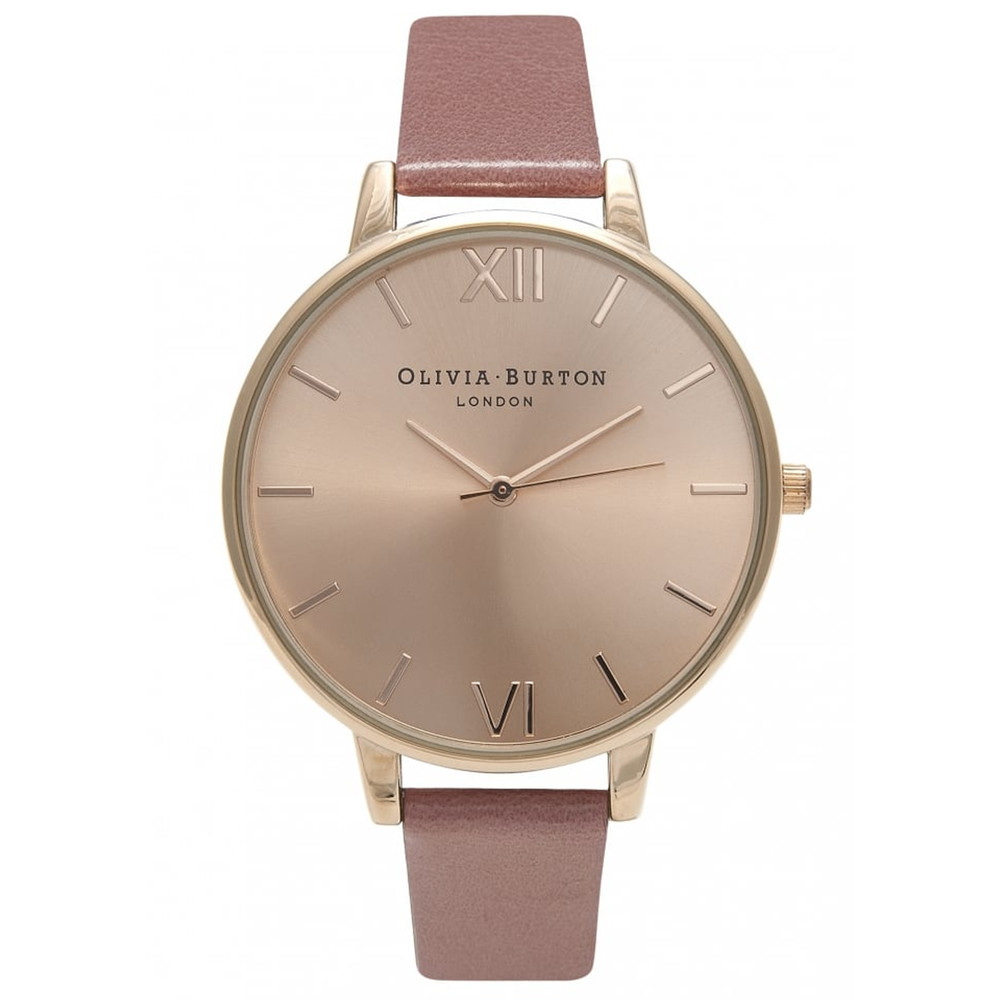 Big Dial Watch - Rose & Rose Gold