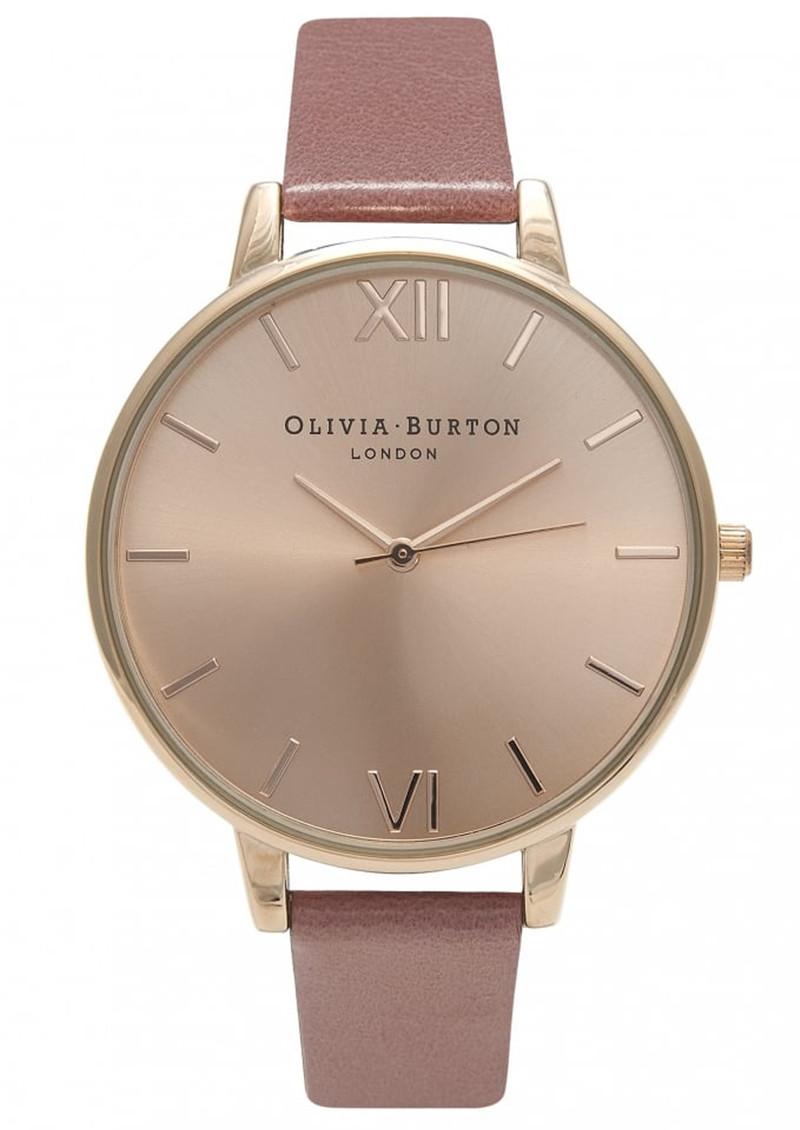 Olivia Burton Big Dial Watch - Rose & Rose Gold main image