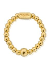 ChloBo Mini Ball Ring - Gold