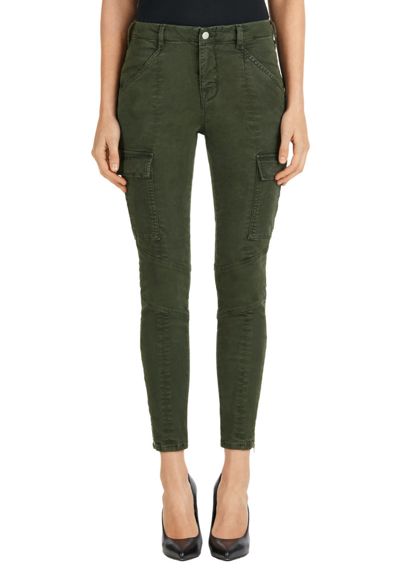 J Brand Houlihan Mid Rise Cargo Jeans - Distressed Caledon main image