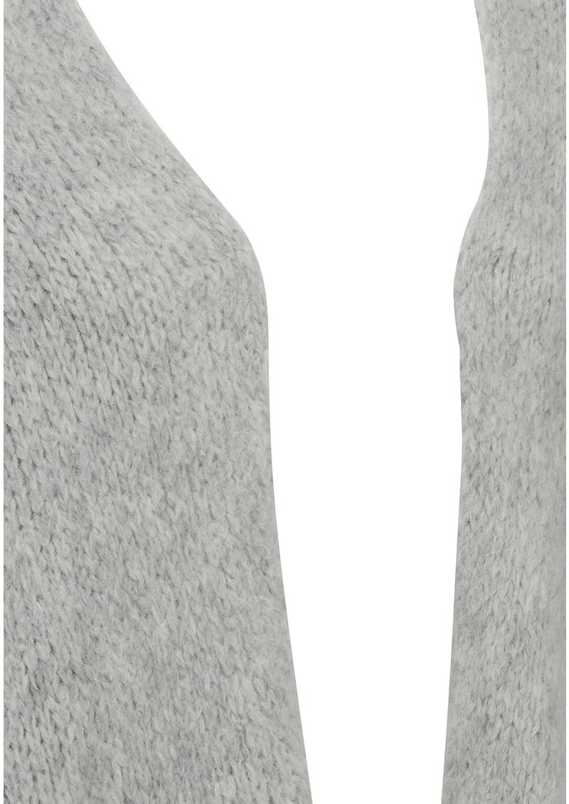 American Vintage Boolder Knitted Long Cardigan - Rock Melange main image