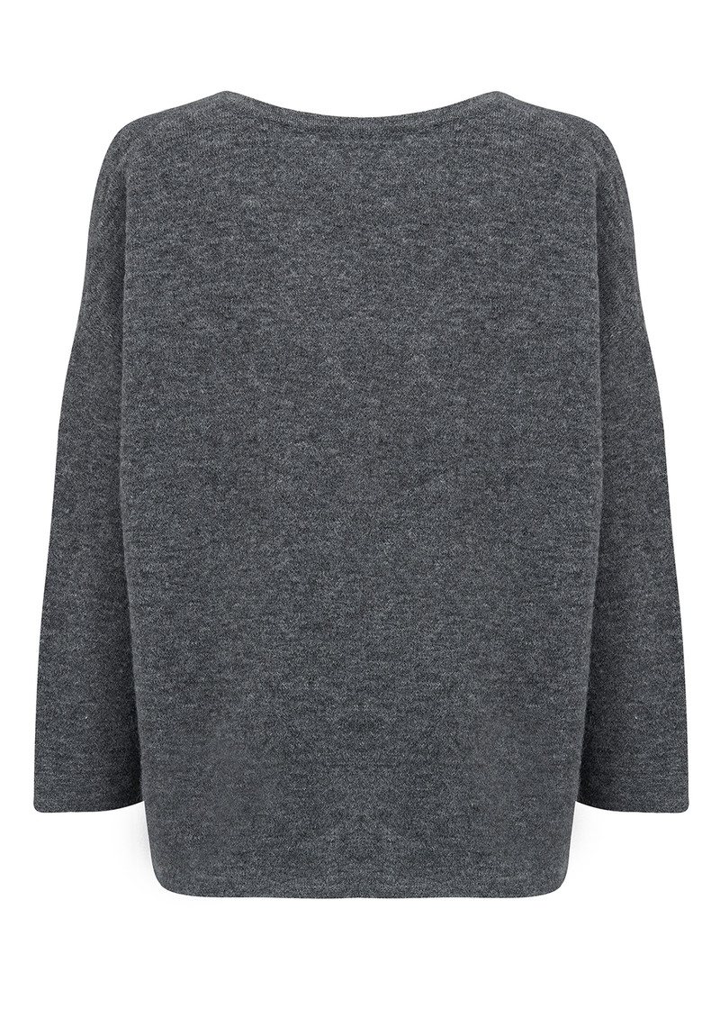 American Vintage Wixtonchurch Jumper - Heather Grey main image