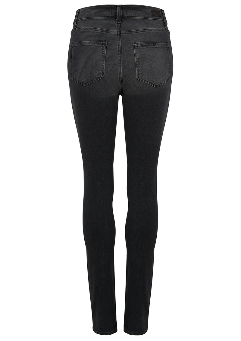 High Rise Edgemont Skinny Jeans - Smoke Grey main image