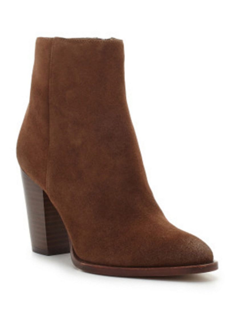 Sam Edelman Blake Suede Ankle Boot - Woodland Brown main image