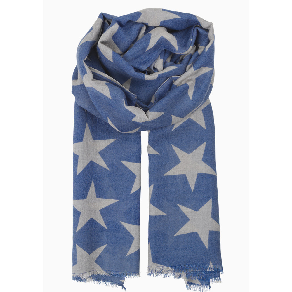 Supersize Nova Scarf - Moonlight Blue