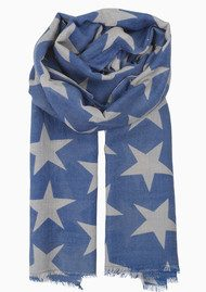 Becksondergaard Supersize Nova Scarf - Moonlight Blue
