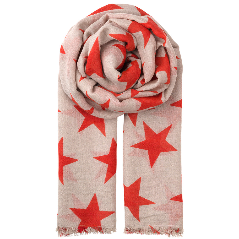 Supersize Nova Scarf - High Risk Red