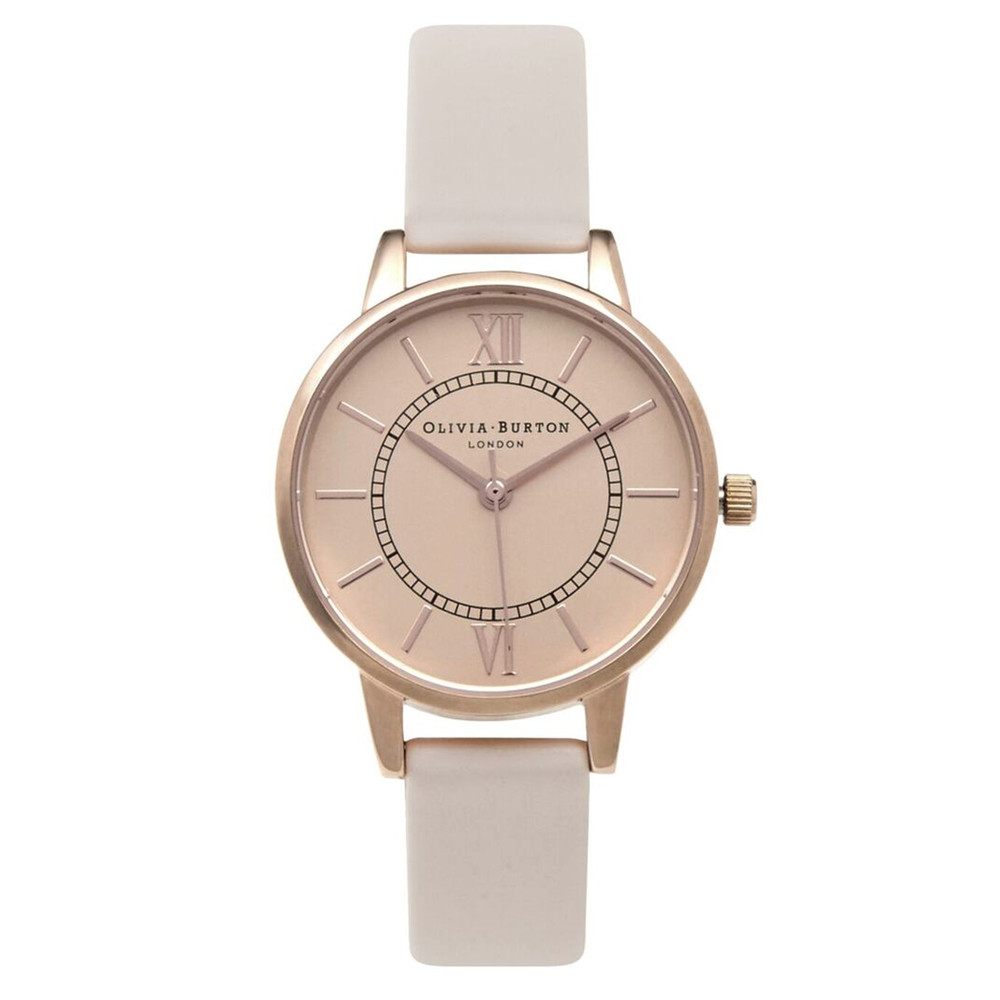 Wonderland Watch - Blush & Rose Gold