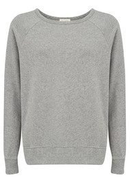 American Vintage Jaguar Sweater - Heather Grey
