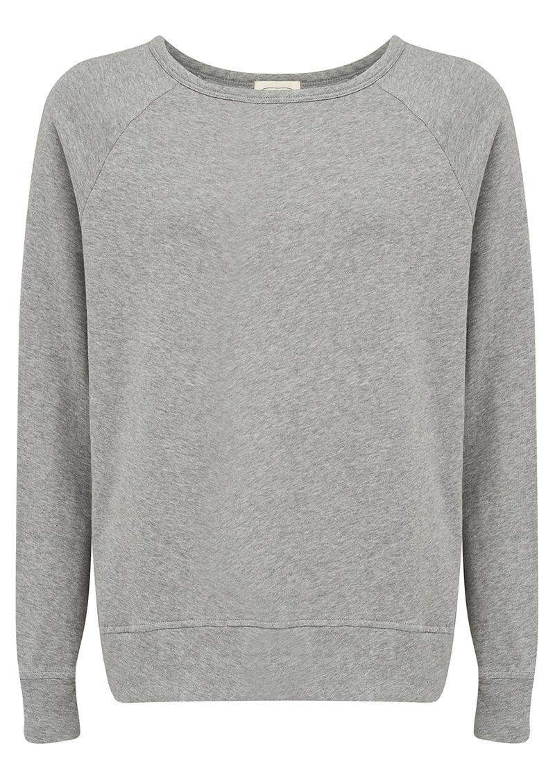 American Vintage Jaguar Sweater - Heather Grey main image