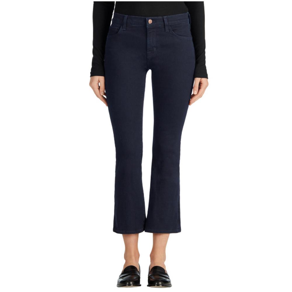Selena Mid Rise Boot Cut Jeans - Bluebird