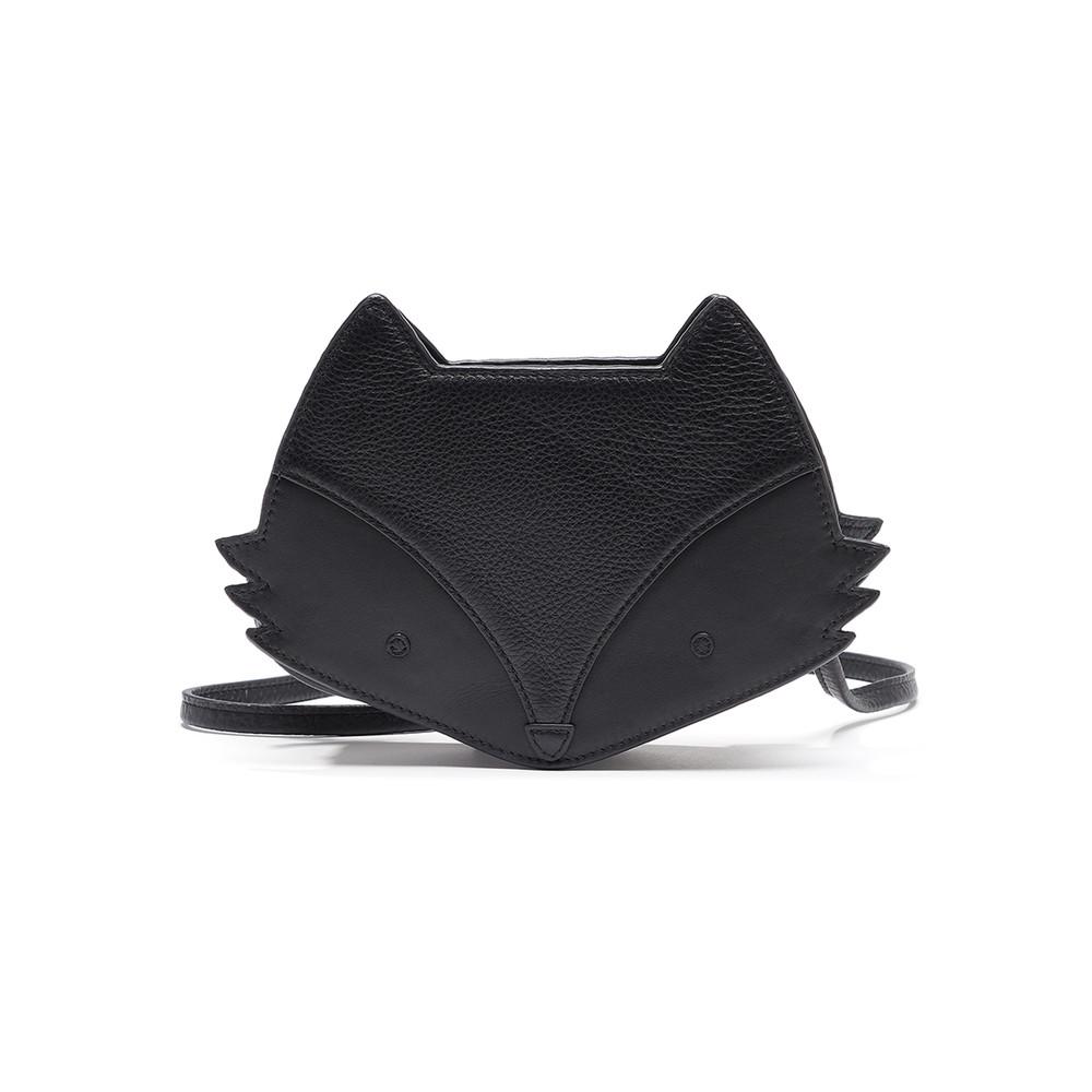 Fox Cross Body Bag - Black