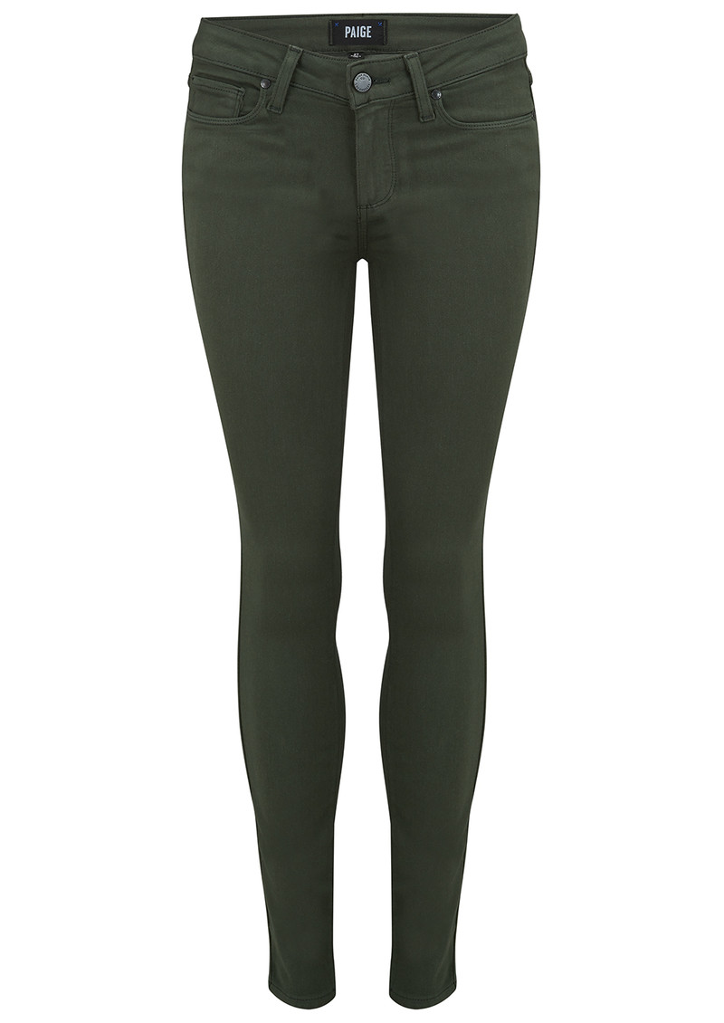 Verdugo Ankle Skinny Jeans - Army main image