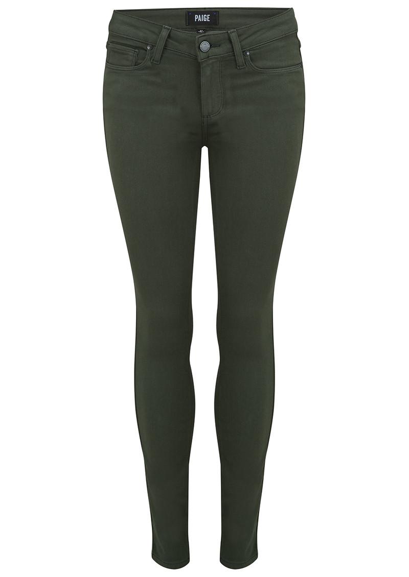 Paige Denim Verdugo Ankle Skinny Jeans - Army main image