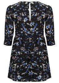 SUNCOO Coste Printed Dress - Blue
