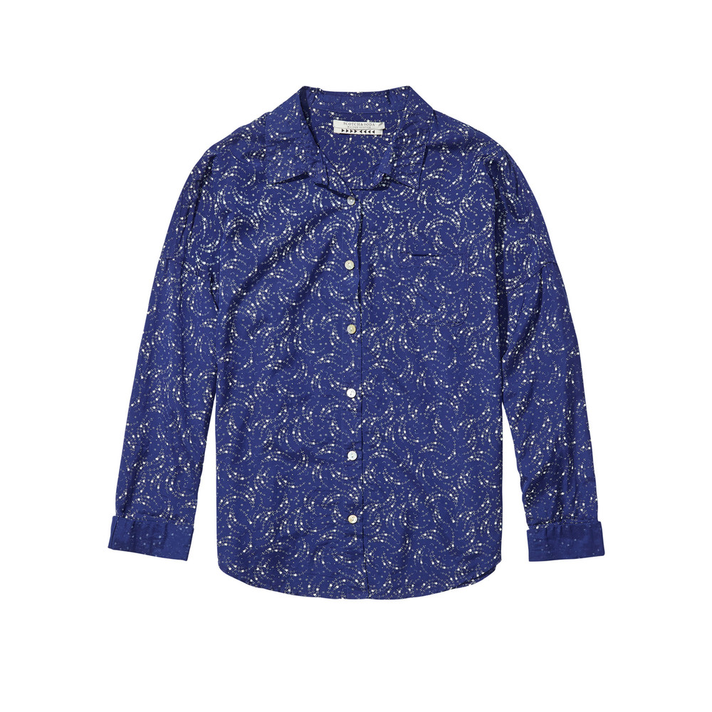 Relaxed Fit Shirt - Blue