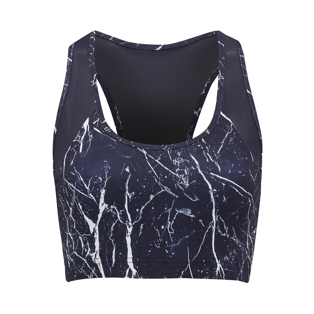 Gill Top - Navy Marble