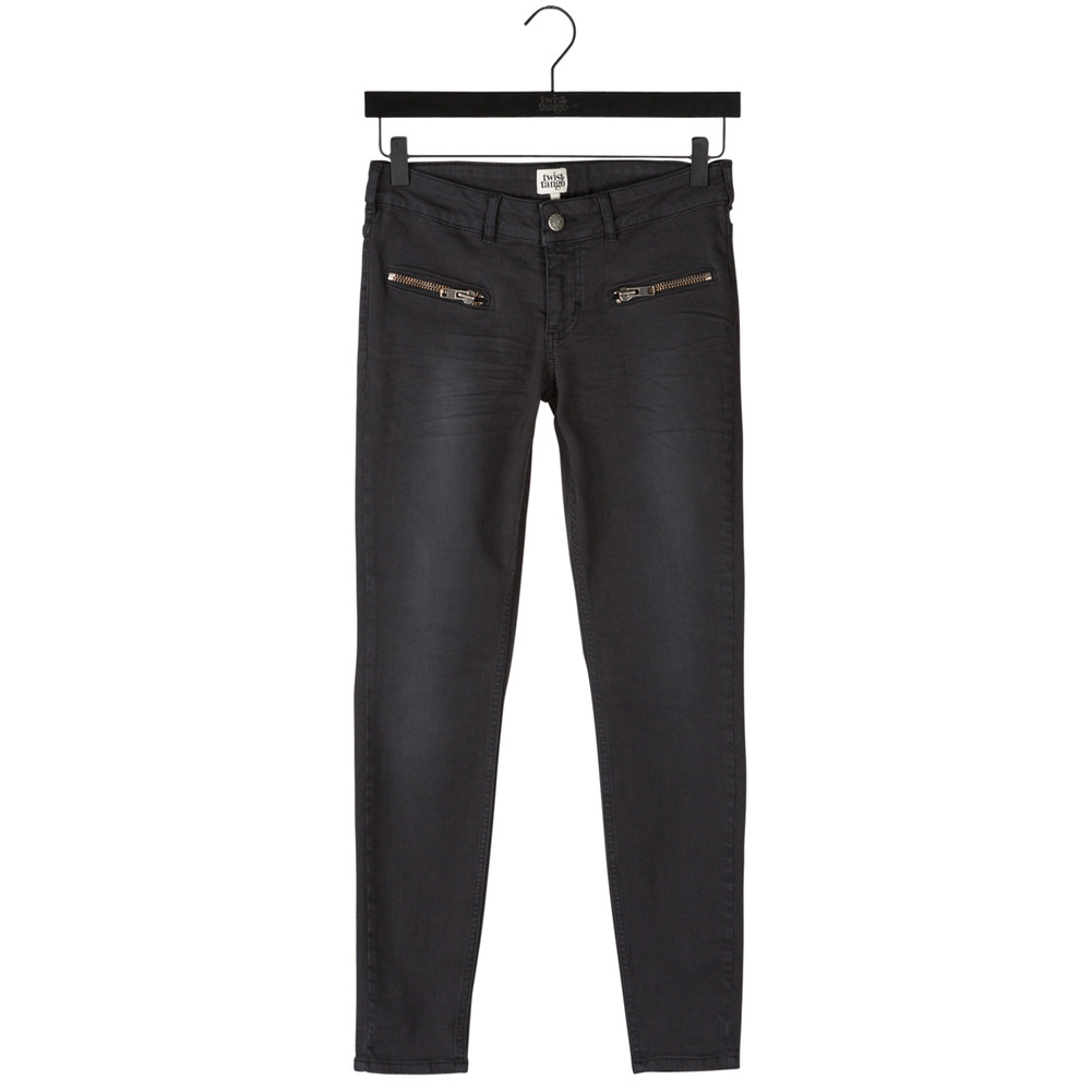 Sid Ankle Jeans - Black