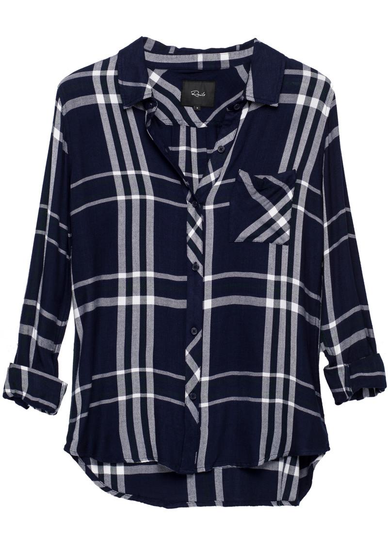 Rails Hunter Shirt - Midnight, White & Pine main image