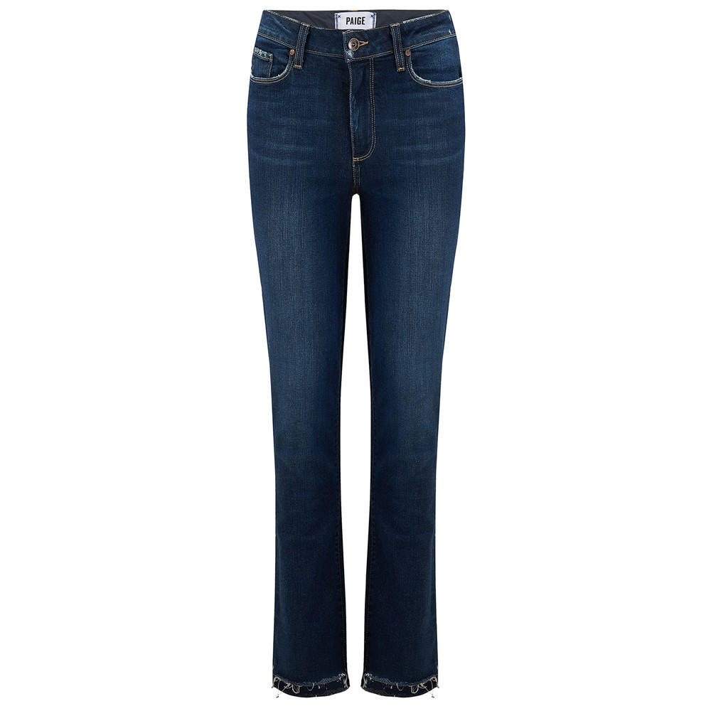 Jacqueline Straight Stepped Hem Jeans - Emilyn