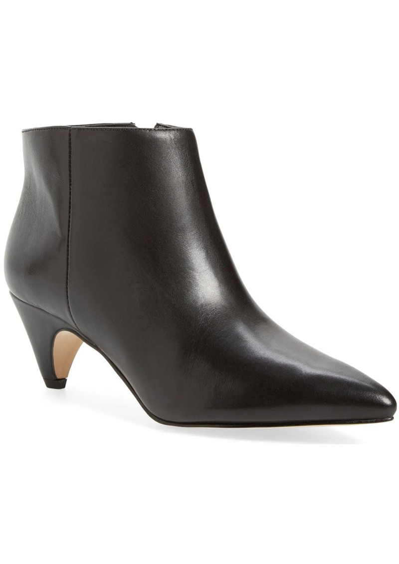 Sam Edelman Lucy Leather Ankle Boot - Black main image