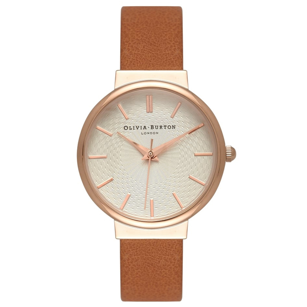 The Hackney Watch - Tan & Rose Gold