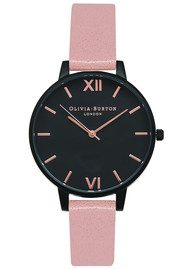 Olivia Burton After Dark IP Black Watch - Dusty Pink & Rose Gold