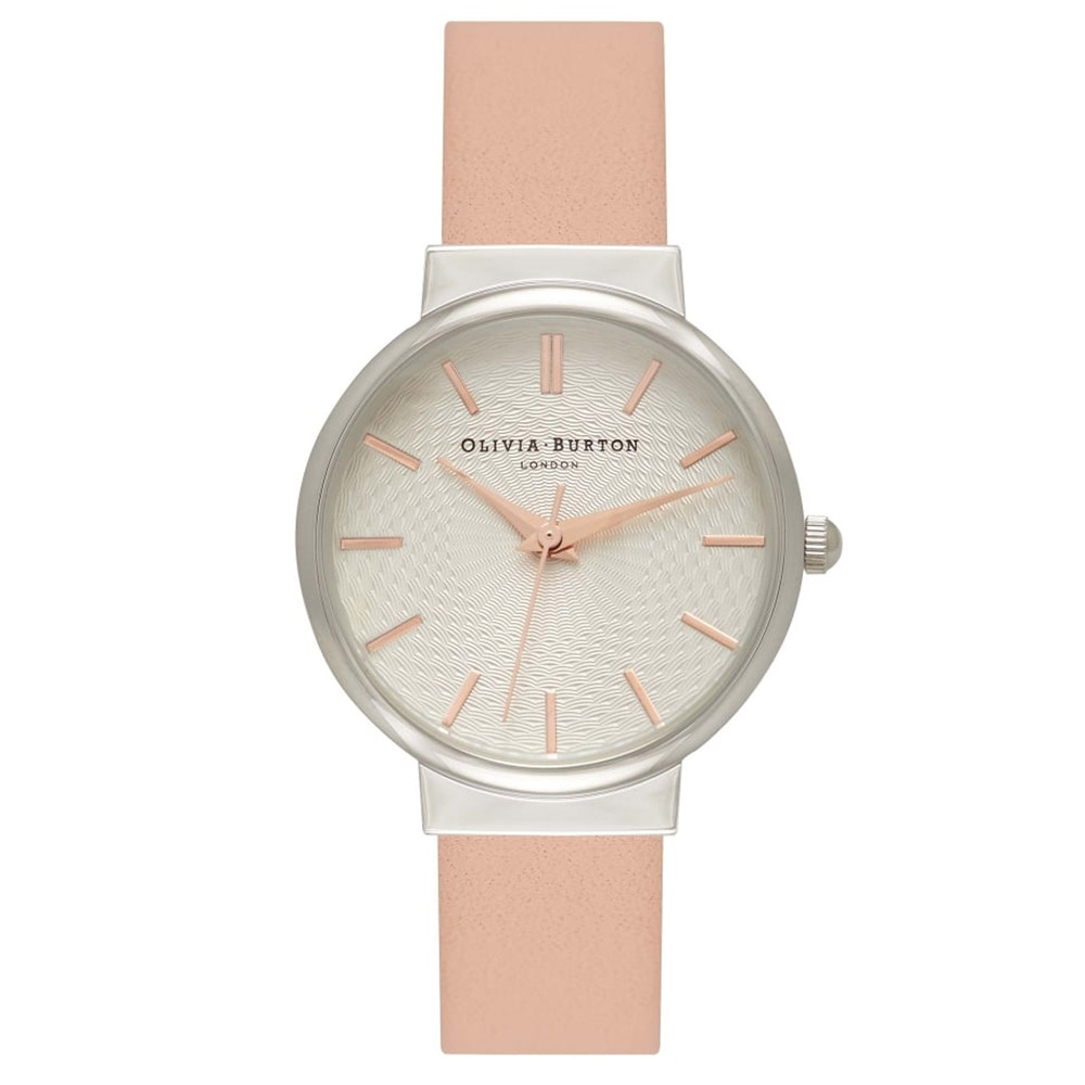 The Hackney Watch - Dusty Pink, Silver & Rose Gold