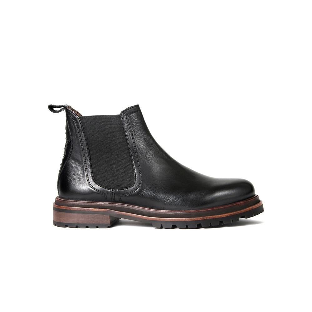 Wistow Leather Boot - Black