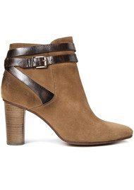 Hudson London Mirla Suede Boots - Tan