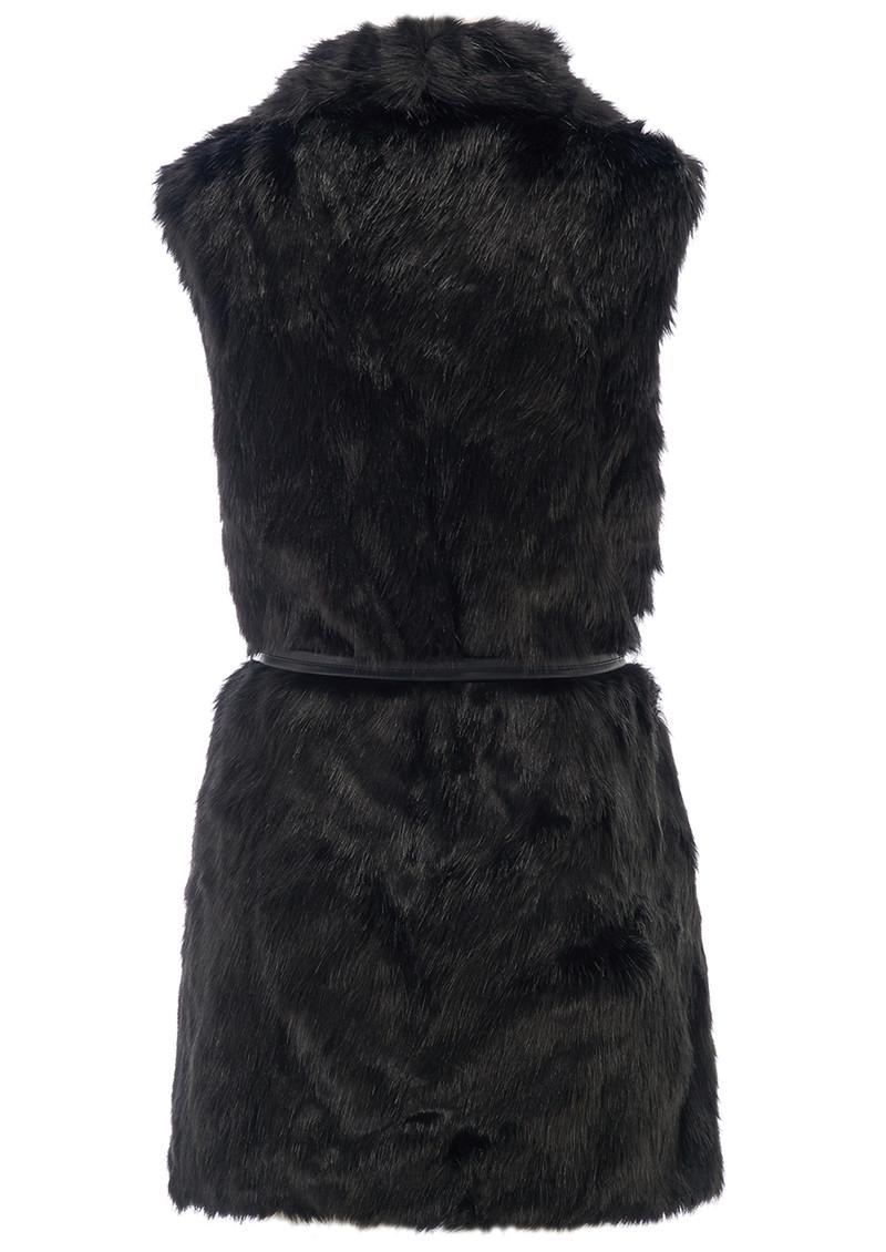 Unreal Fur Fusion Vest - Black main image