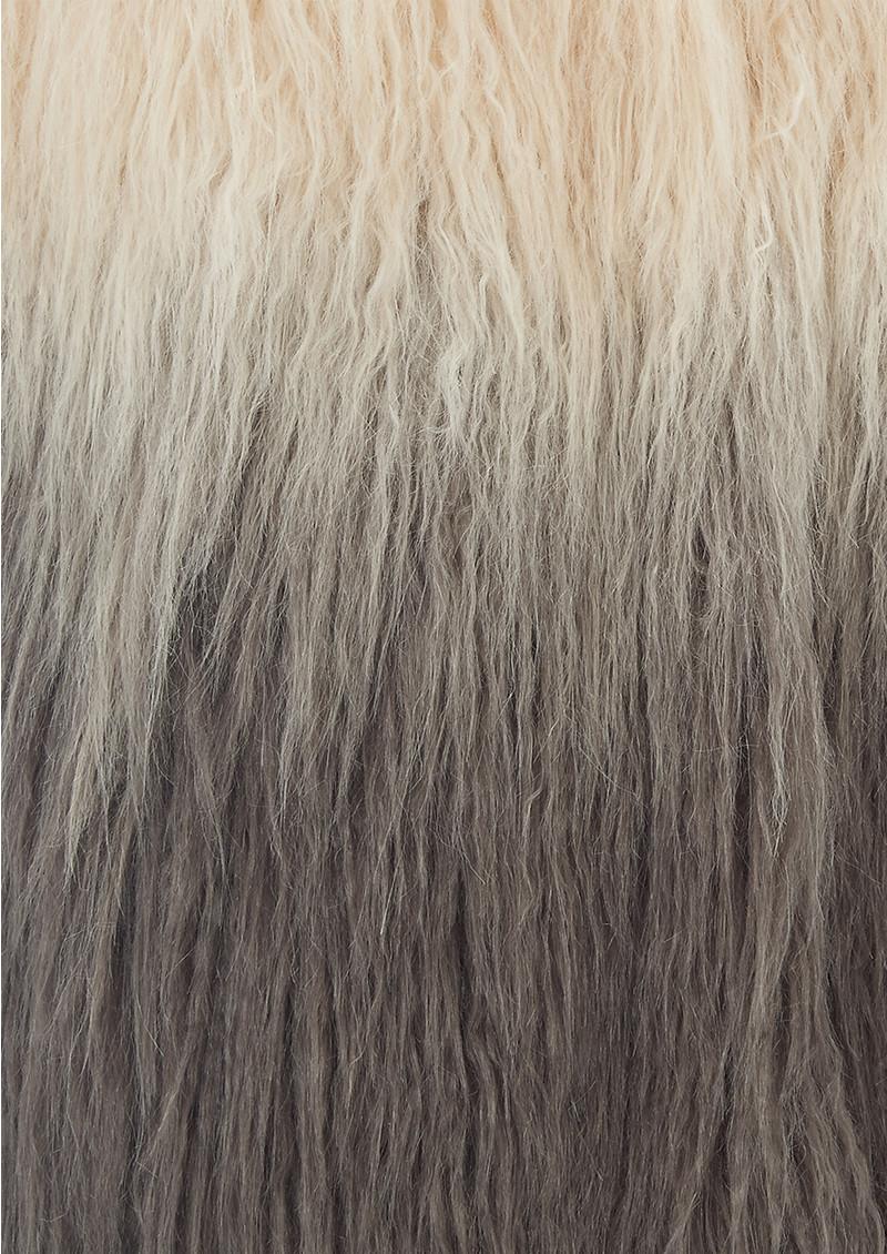 Unreal Fur Pastorale Ombre Vest - Champagne & Charcoal main image
