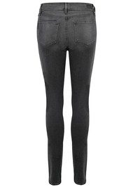 Paige Denim Hoxton High Rise Ultra Skinny Jeans - Smoke Grey