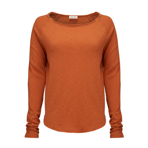 Sonoma Long Sleeve Top - Tangerine