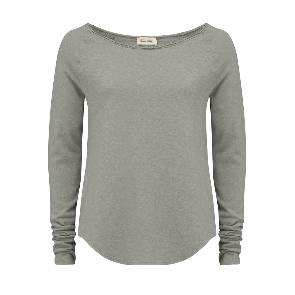 Sonoma Long Sleeve Top - Concrete
