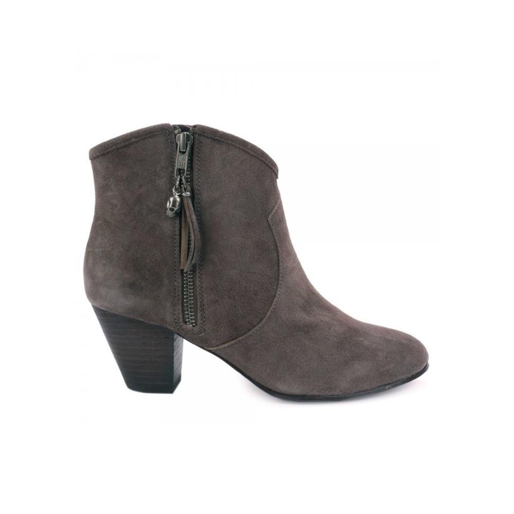 Jess Reverse Broken Ankle Boot - Broken Topo