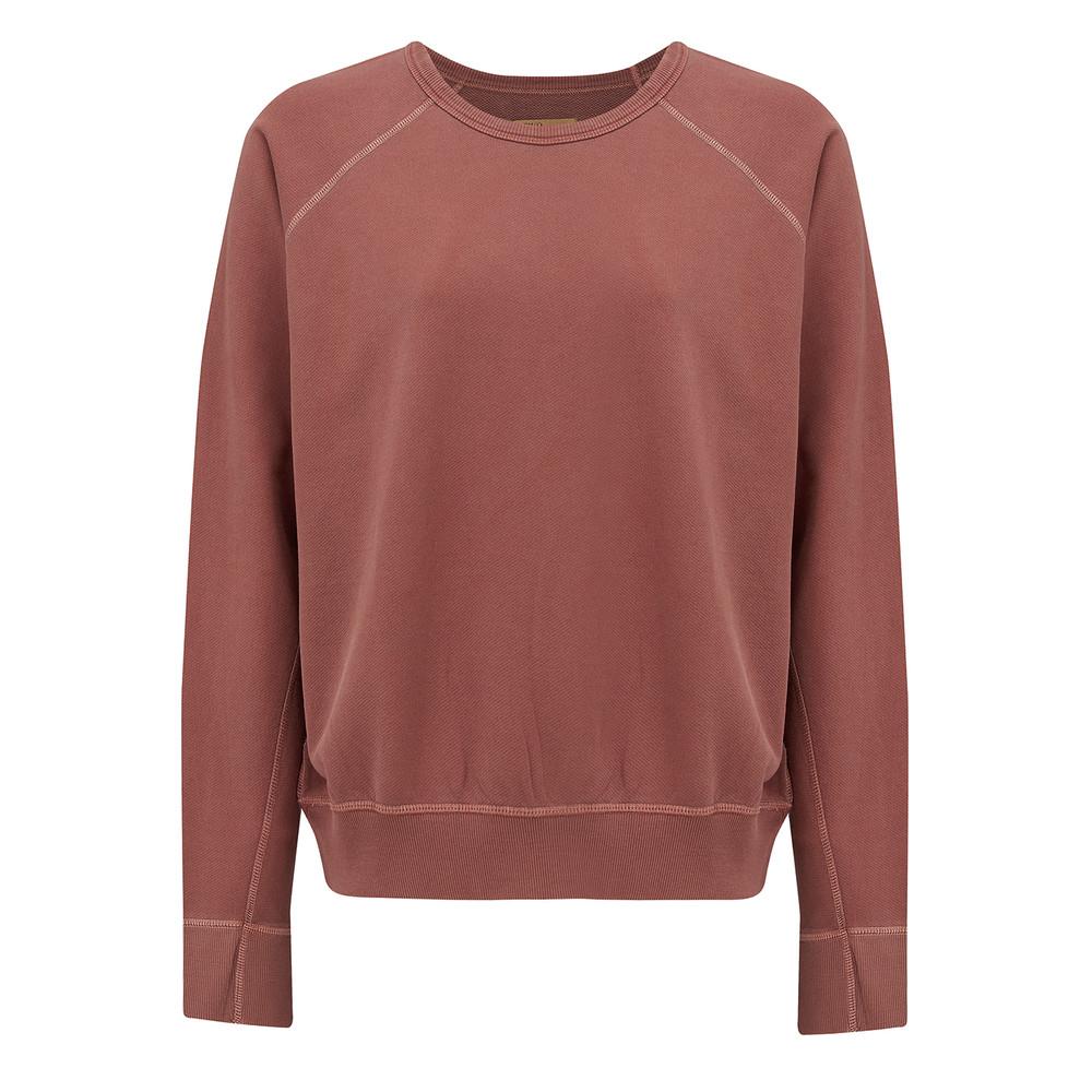 Pearl Cotton Sweatshirt - Blush