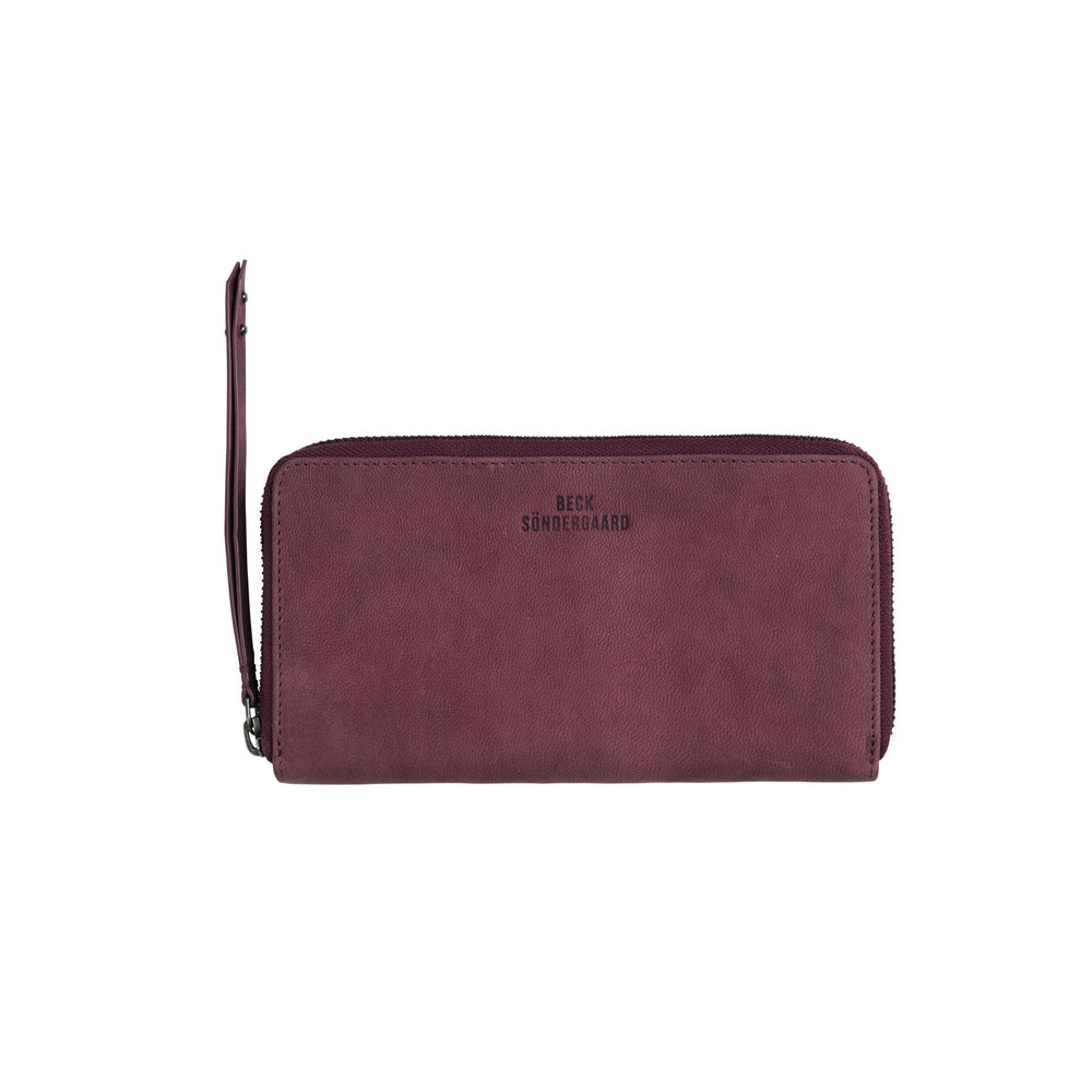 E- Money For Nothing Purse - Burgandy