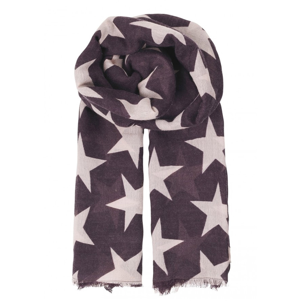Supersize Nova Scarf - Plum Perfect
