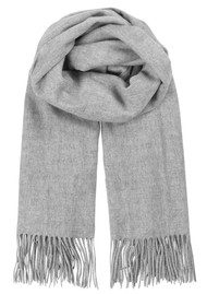 Becksondergaard Crystal Wool Scarf - Light Grey Melange