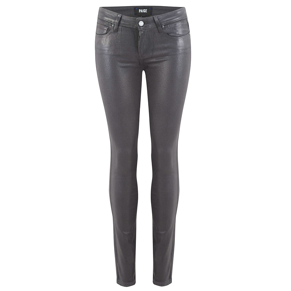 Verdugo Ultra Skinny Luxe Coated Jeans - Smoke Grey