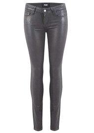 Paige Denim Verdugo Ultra Skinny Luxe Coated Jeans - Smoke Grey