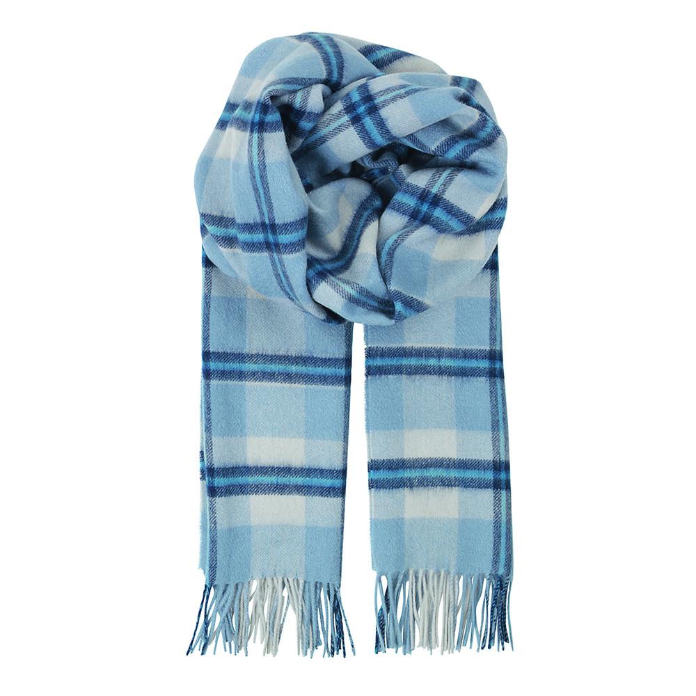 Glendale Wool Scarf - Dusty Blue