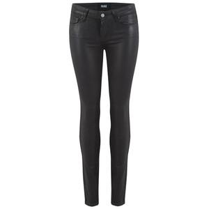 Verdugo Ankle Luxe Coating Jeans - Black Fog
