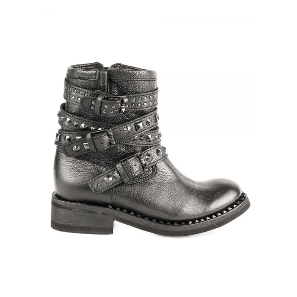 Tatoo Biker Boot - Black