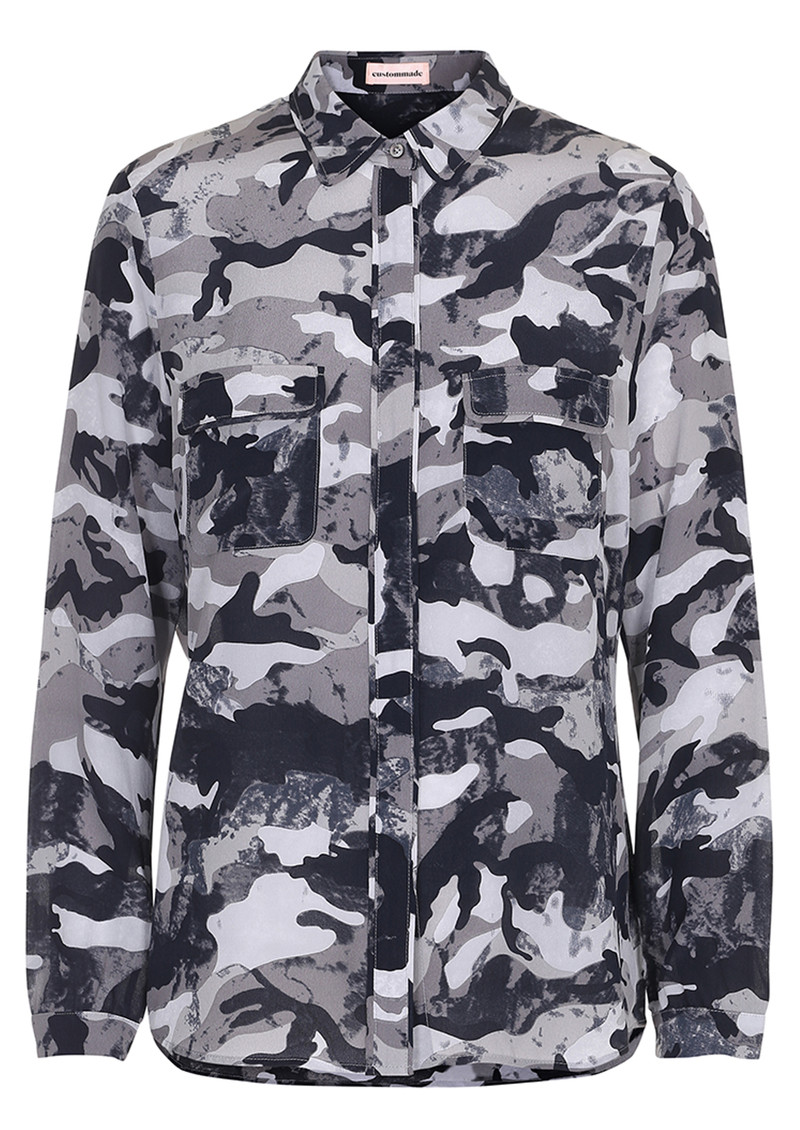 CUSTOMMADE Abelone Camo Shirt - Paloma main image