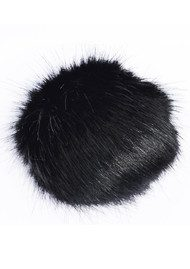 BOBBL Faux Fur Small Bobbl - Black