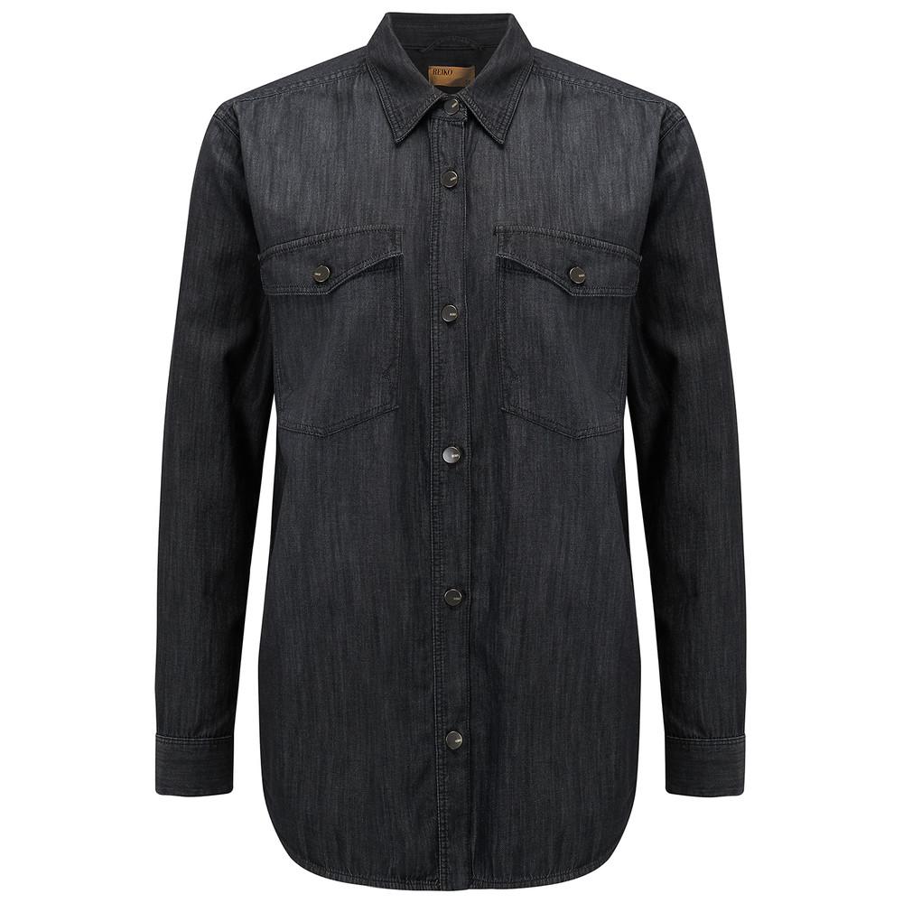 Cody Denim Shirt - Black