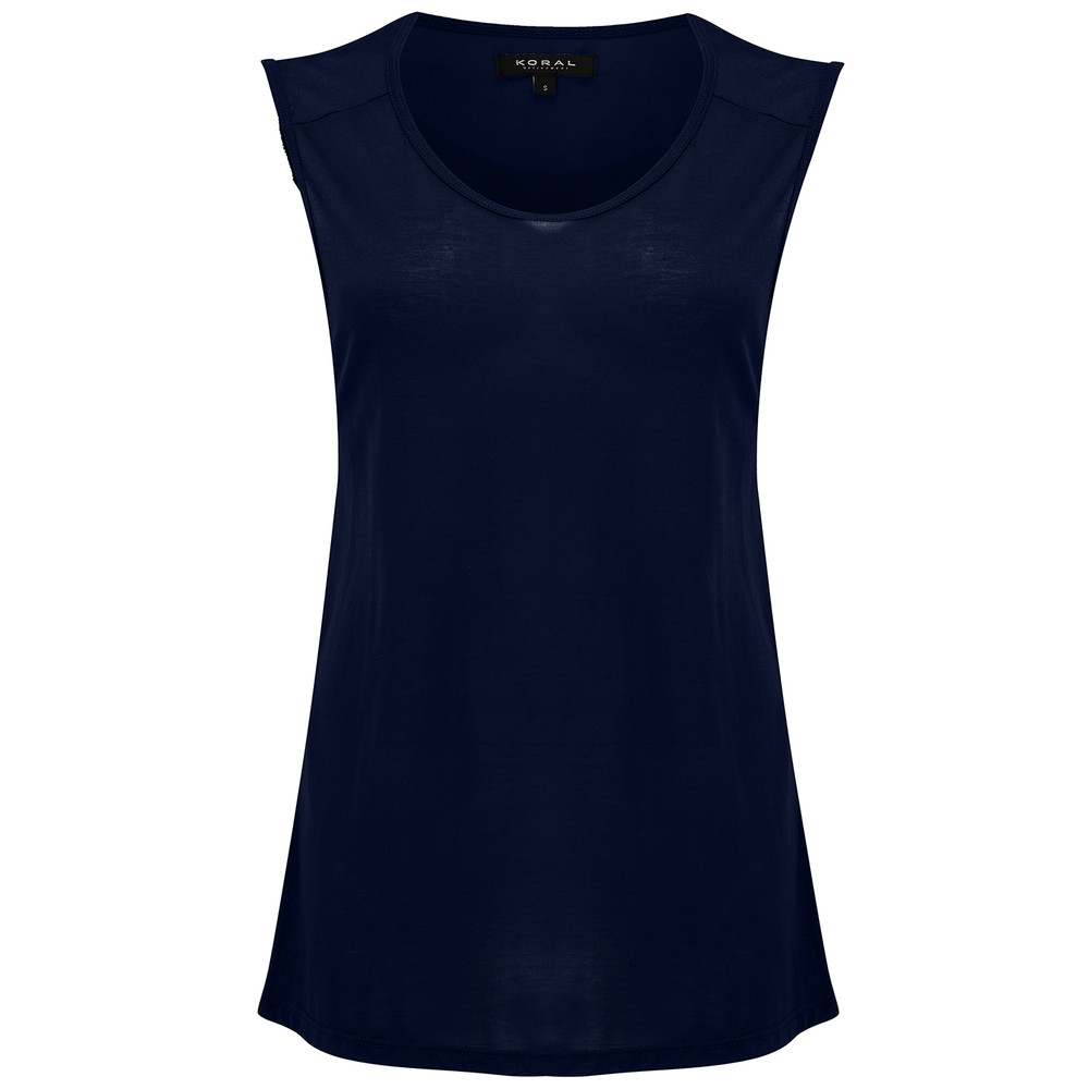 Aura Tank - Midnight Blue