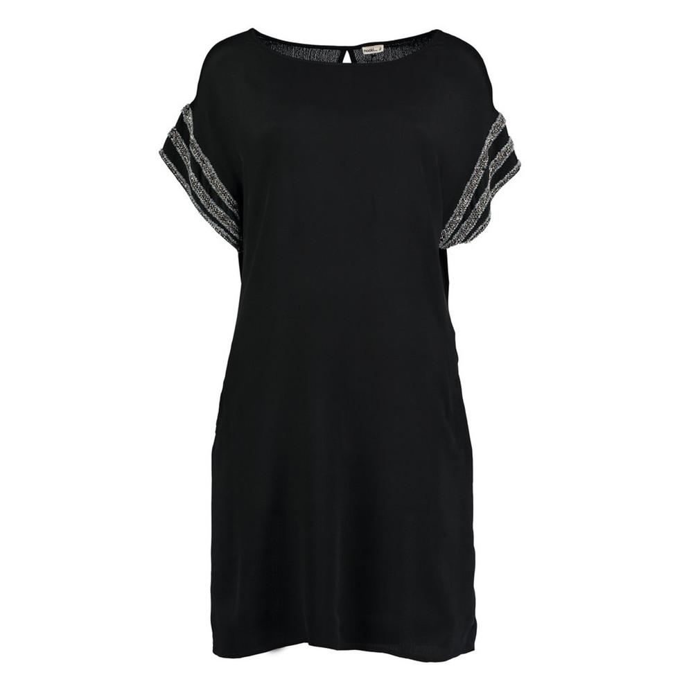 Clea Embellished Dress - Black